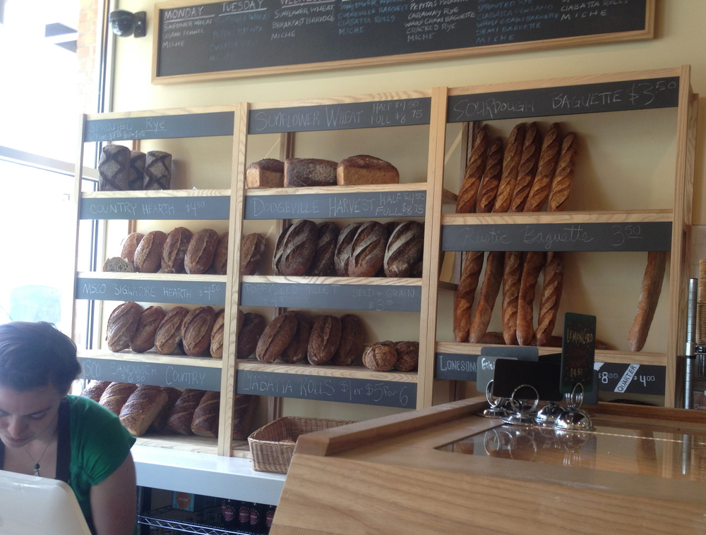 Andddd, found my go-to place for fresh bread! (Note: breakfast served all day = clutch!)