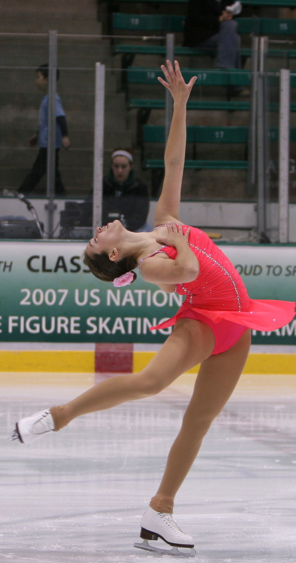 Back in the figure skating days!