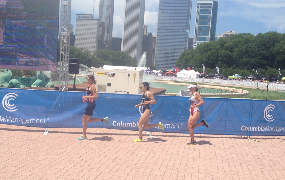 Helen Jenkins, Juri Ide, and Kirsten Sweetland crushing out of T2.