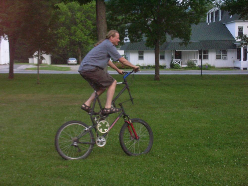 VT: crazy bike!