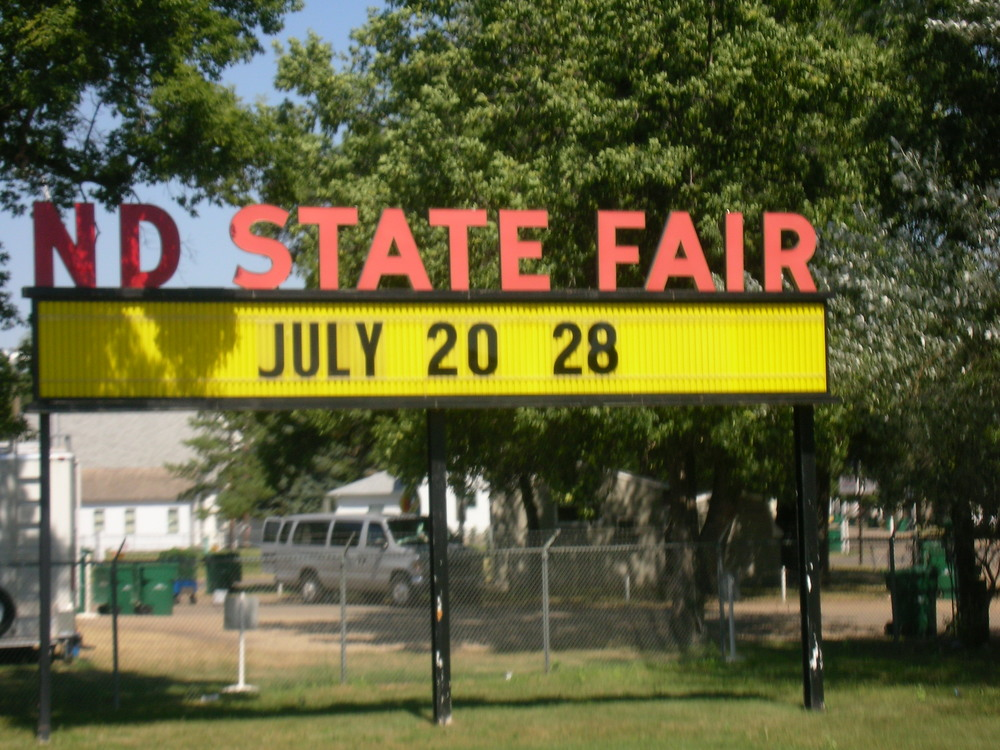 ND: state fair grounds!