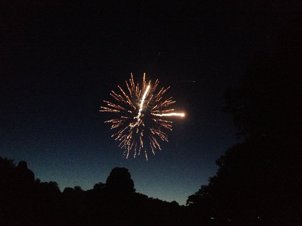 Fireworks in Buck Hill!