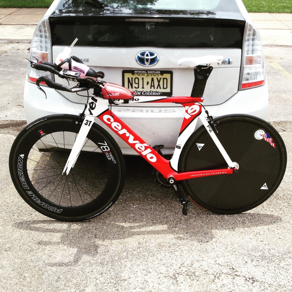 My good ole' Cervelo READY TO ROCK
