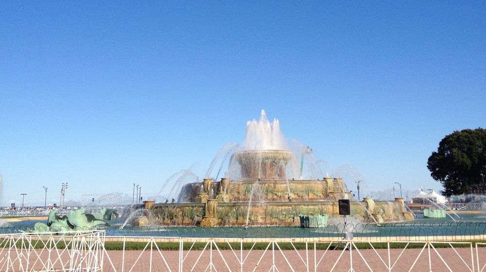 Beautiful Buckingham Fountain!