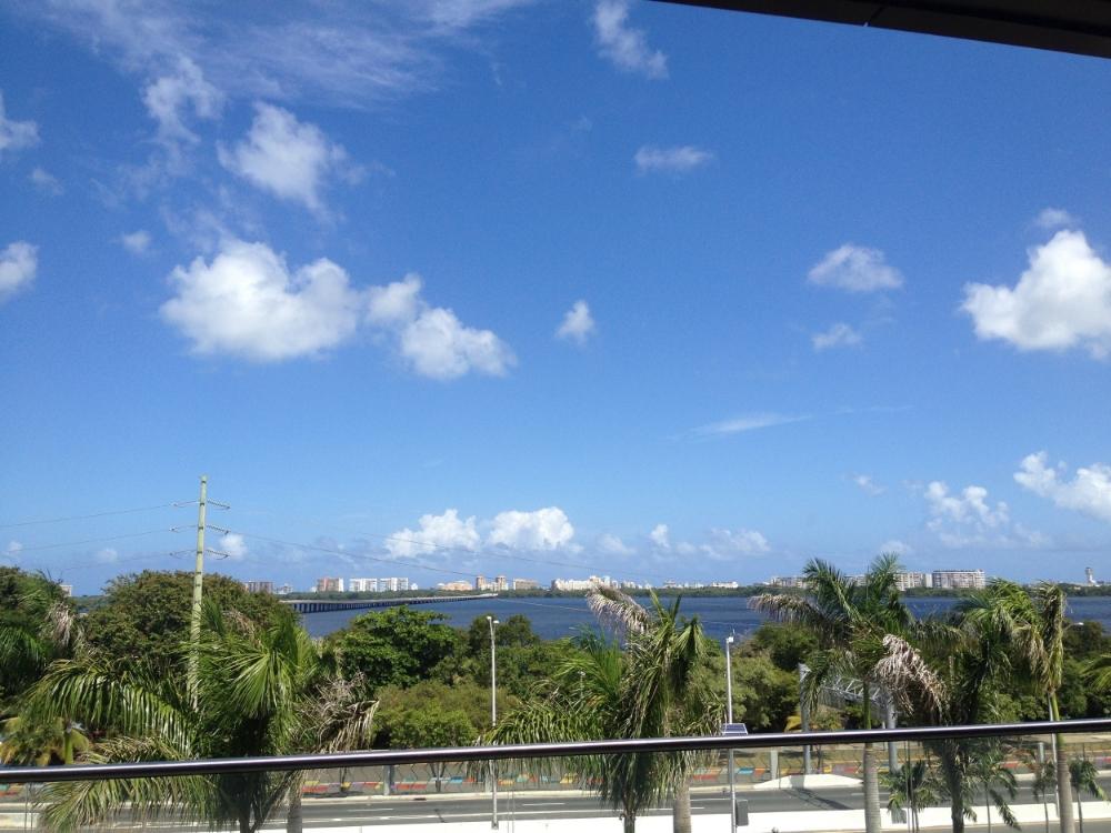 Hellooo Puerto Rico! View of San Juan.