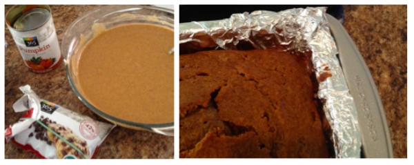 Baking time! Started with pumpkin bread...