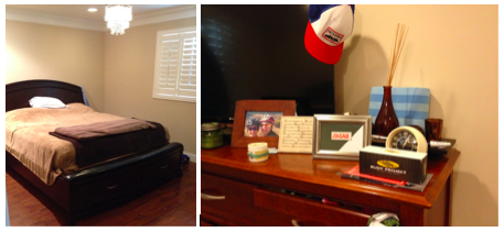 With some of my favorite things from my room in SB, almost anywhere can feel like home sweet home!
