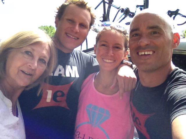 Roxie = our triathlon mom in Clermont! Miss her already.