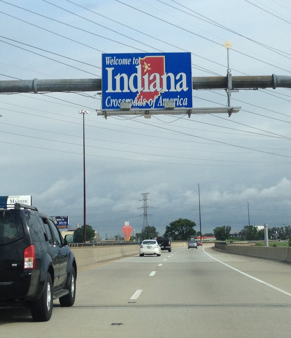 Moving to the land of the Hoosiers