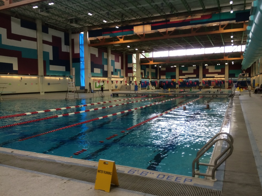 amazing swimming at Carleton U