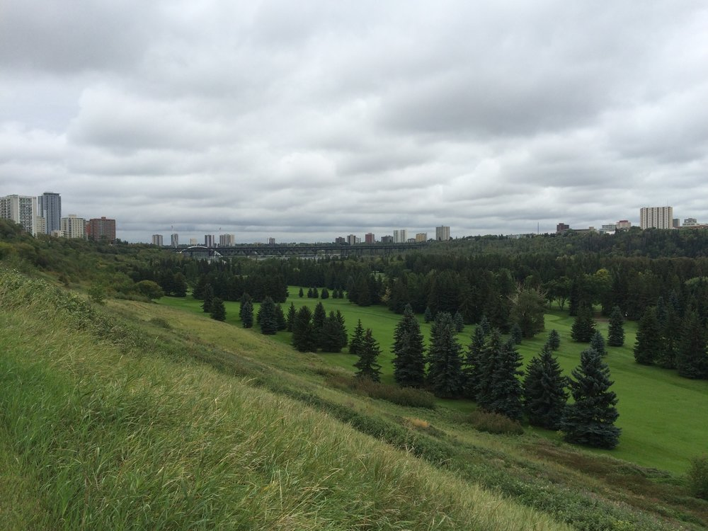 Beautiful greenery of Edmonton!