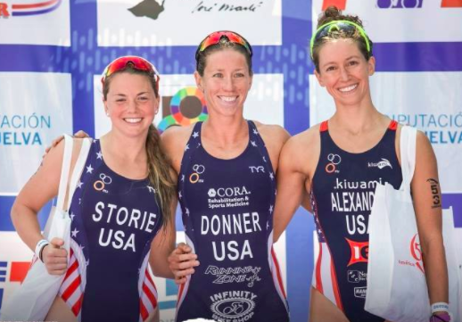 USA swept the podium with Kaitlin Donner taking first, Erin Storie second, and me claiming bronze!