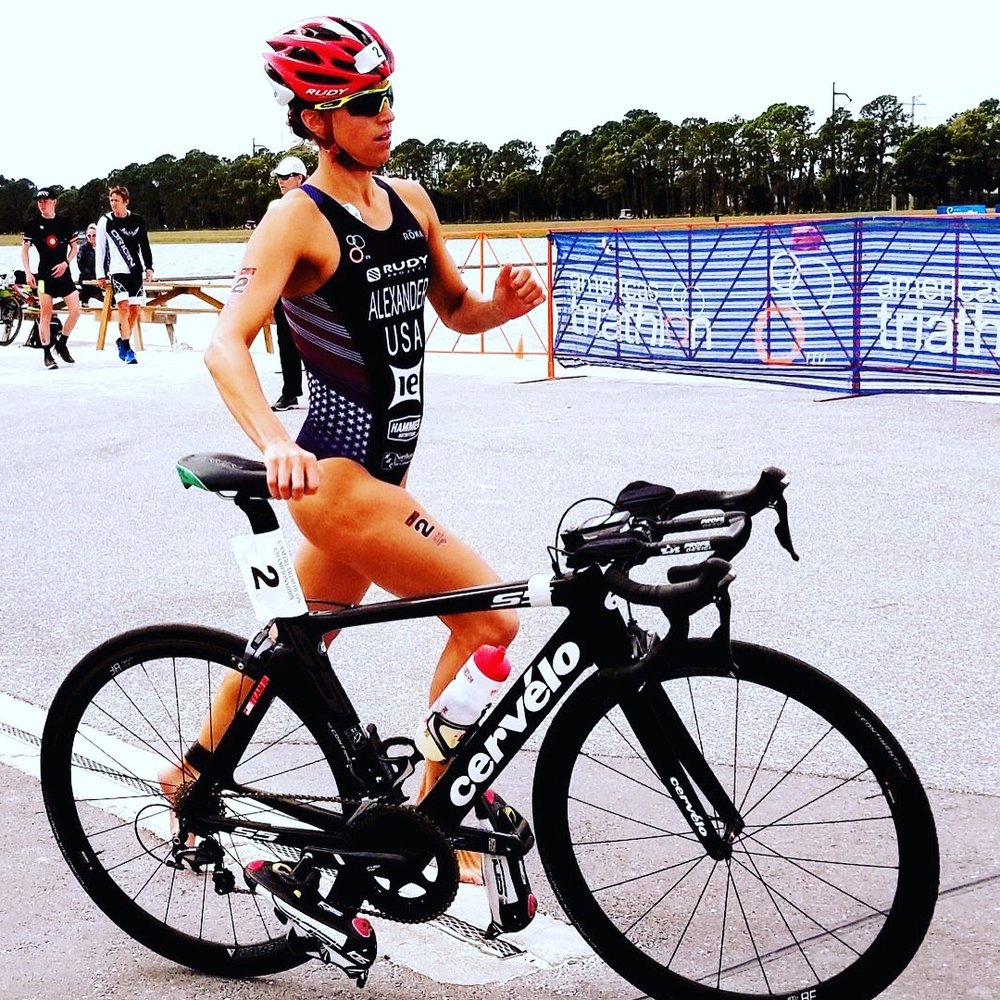 Charging into T2 at CAMTRI Sarasota (photo credit:  Dana Allison )