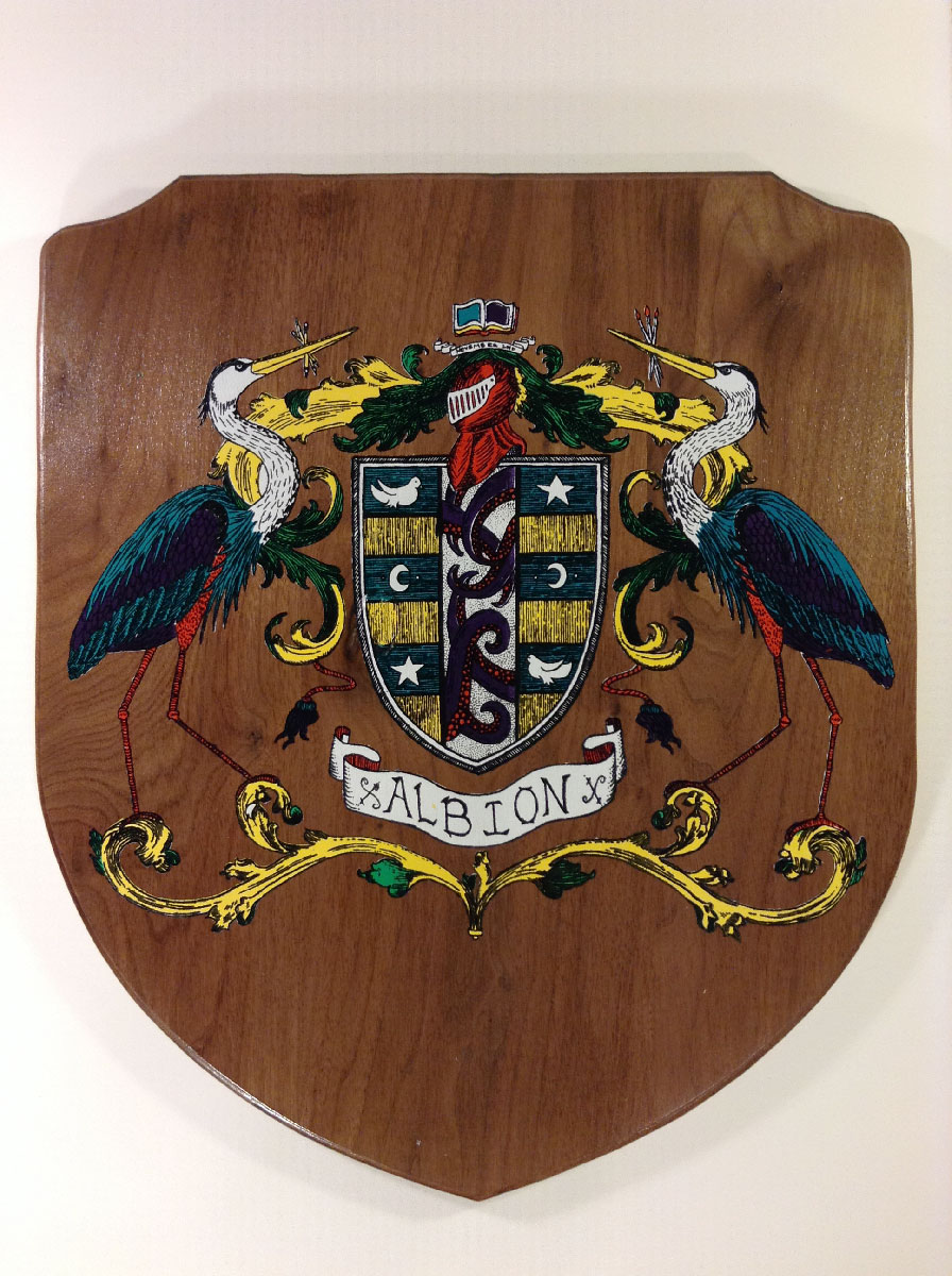 Albion Street Crest