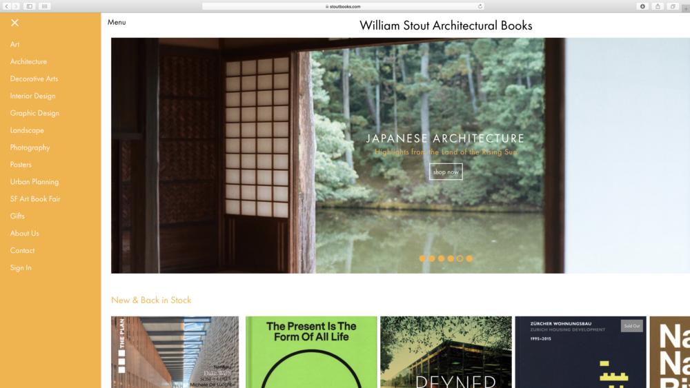 Stout Books Website