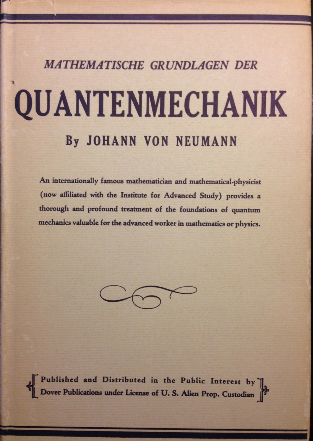 von neumann paper In 1945, mathematician john von neumann undertook a study of computation that demonstrated that a computer could have a simple, fixed structure, yet be able to.