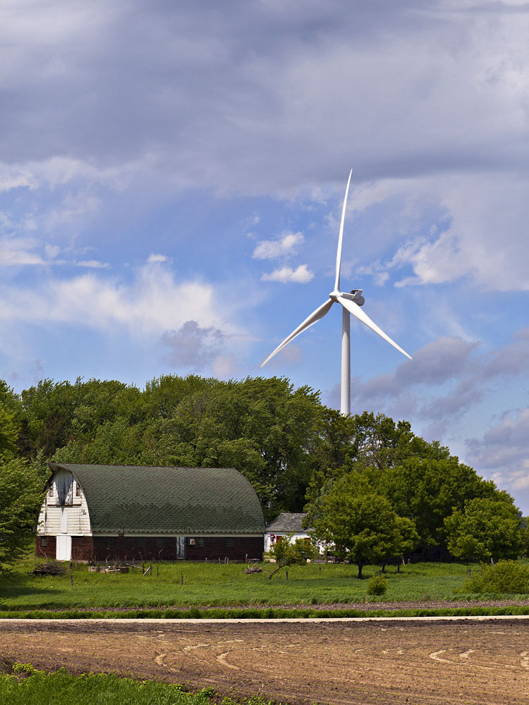 Windmill+Farmhouse