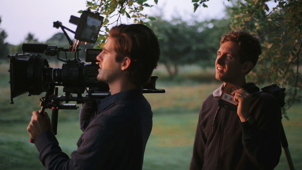 JohnPaul Morris (author) and Matthew Bouwense shoot 4K Raw Digital Imagery on the Sony FS700R.