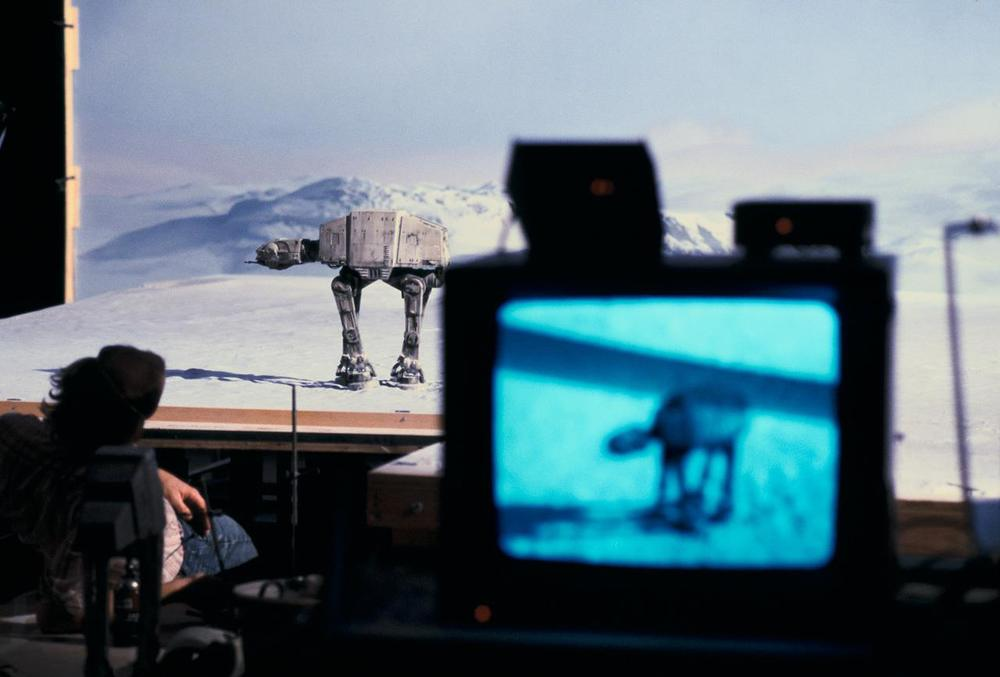 Special Effects work fine tuned for Empire Strikes Back.