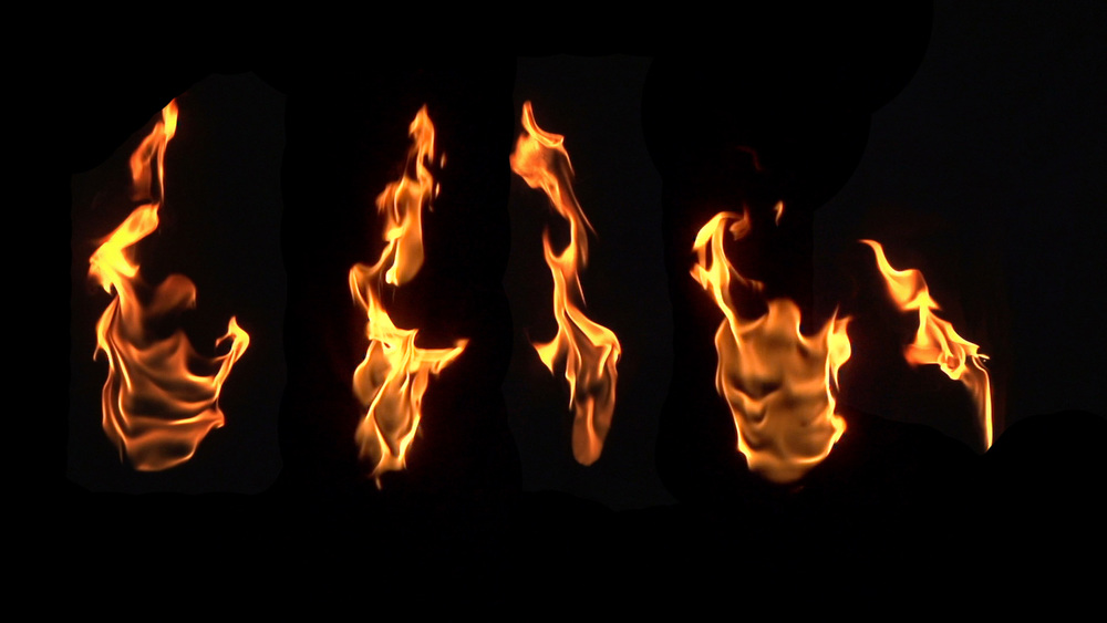 5 HD Fire Composites, Ignitions and Burns, Uncompressed for $6.