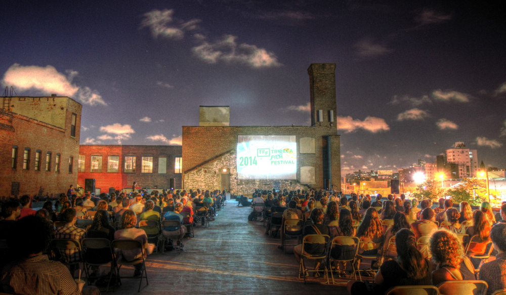 New Orleans Rooftop Screening