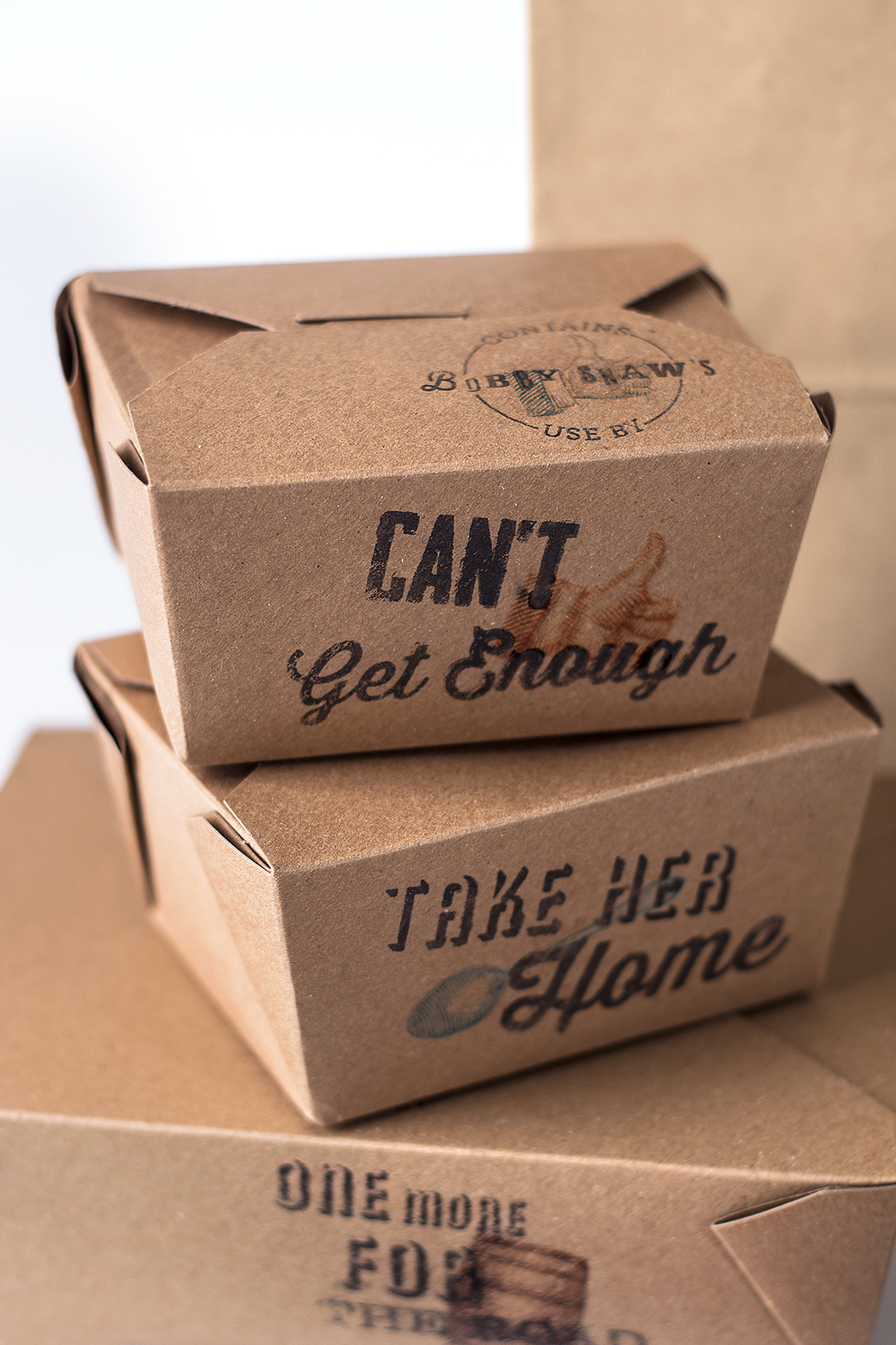 take out boxes