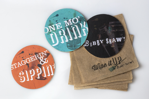 coasters and napkins