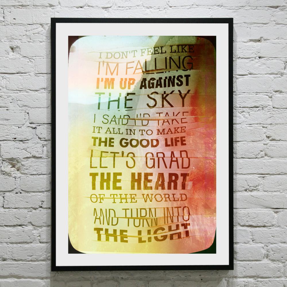 lyric poster