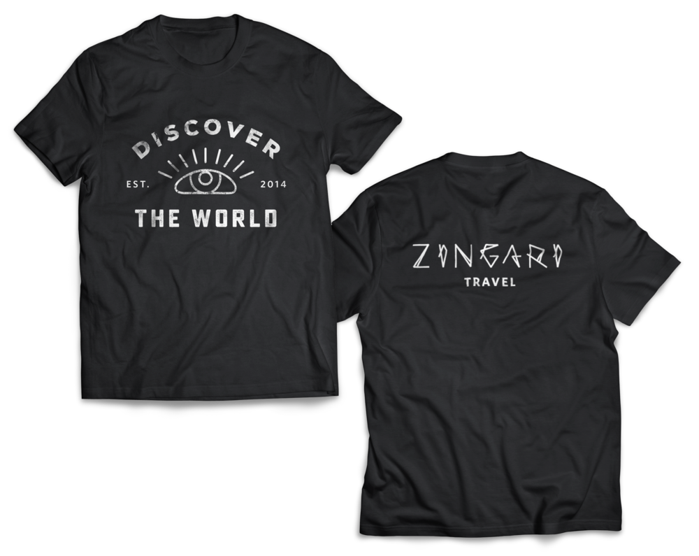Zingari Travel Discover The World Shirt
