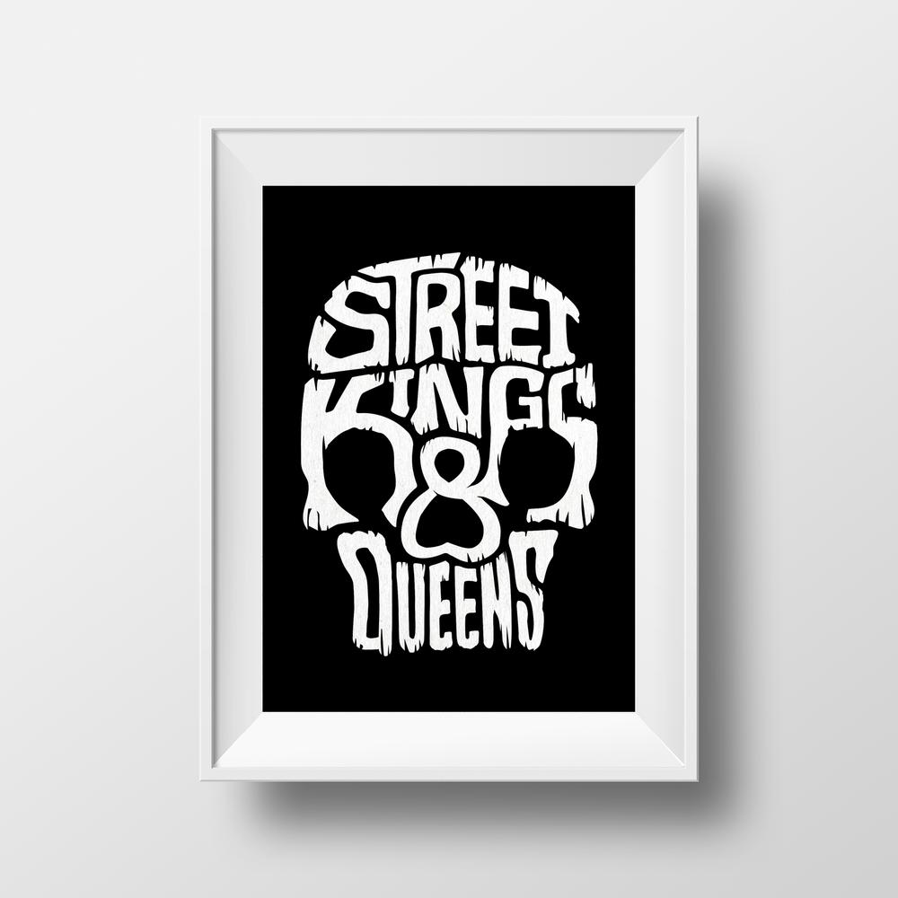 SK&Q Framed Print