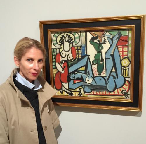 """Picasso, """"Les femmes d'Alger"""" (Women of Algiers), 1955"""
