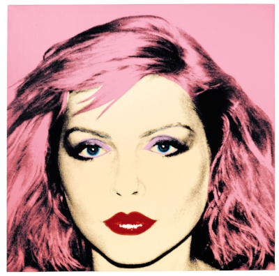 Debbie Harry by Andy Warhol (1928-1987) (copyright Sotheby's).