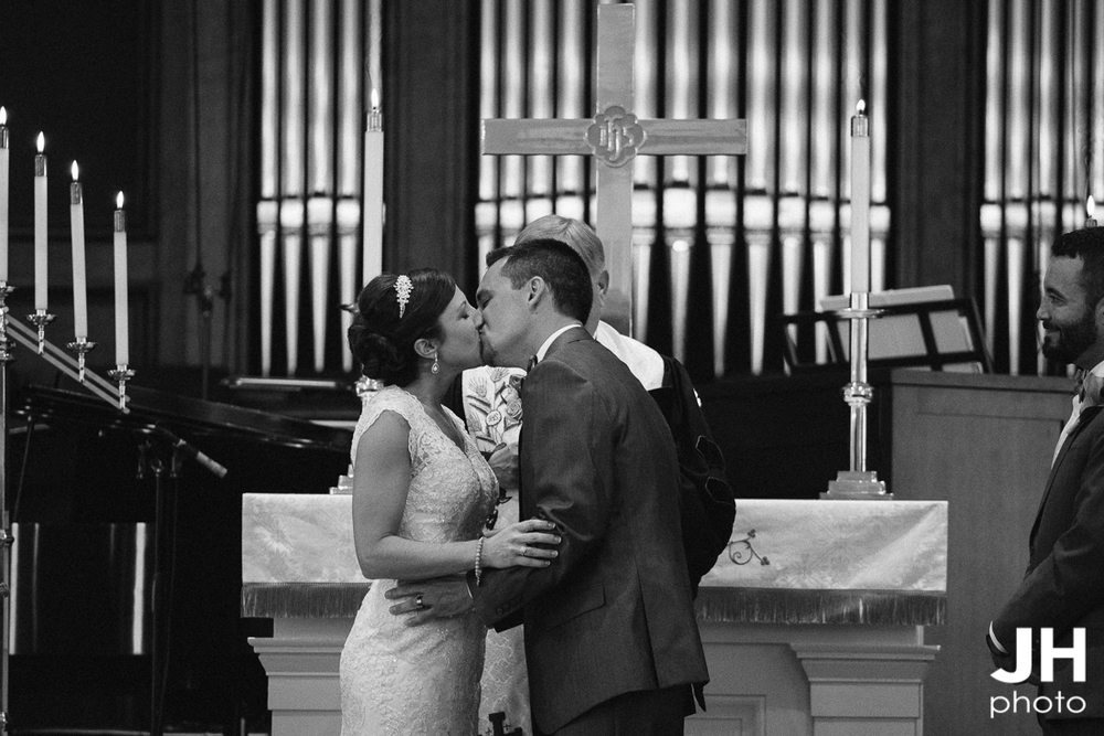 Belin United Methodist Church Wedding