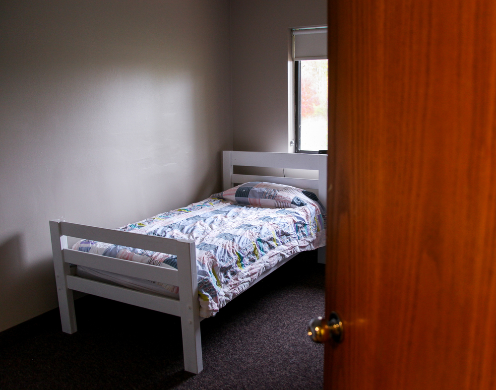 The Bridge is the only youth shelter in a 50 mile radius of Grand Rapids. Teens cannot stay in shelters like Mel Trotter because of their status as minors.