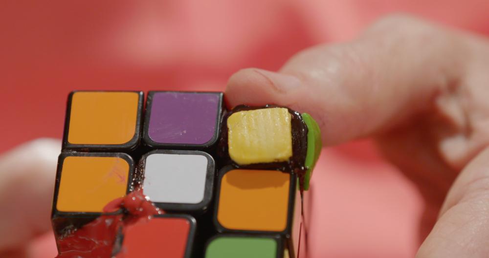 Rubik's Cube piece