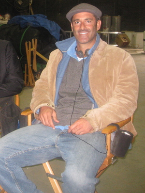On the movie set of PRIEST (Sony), based on a screenplay I developed with first-time screenwriter, Cory Goodman.