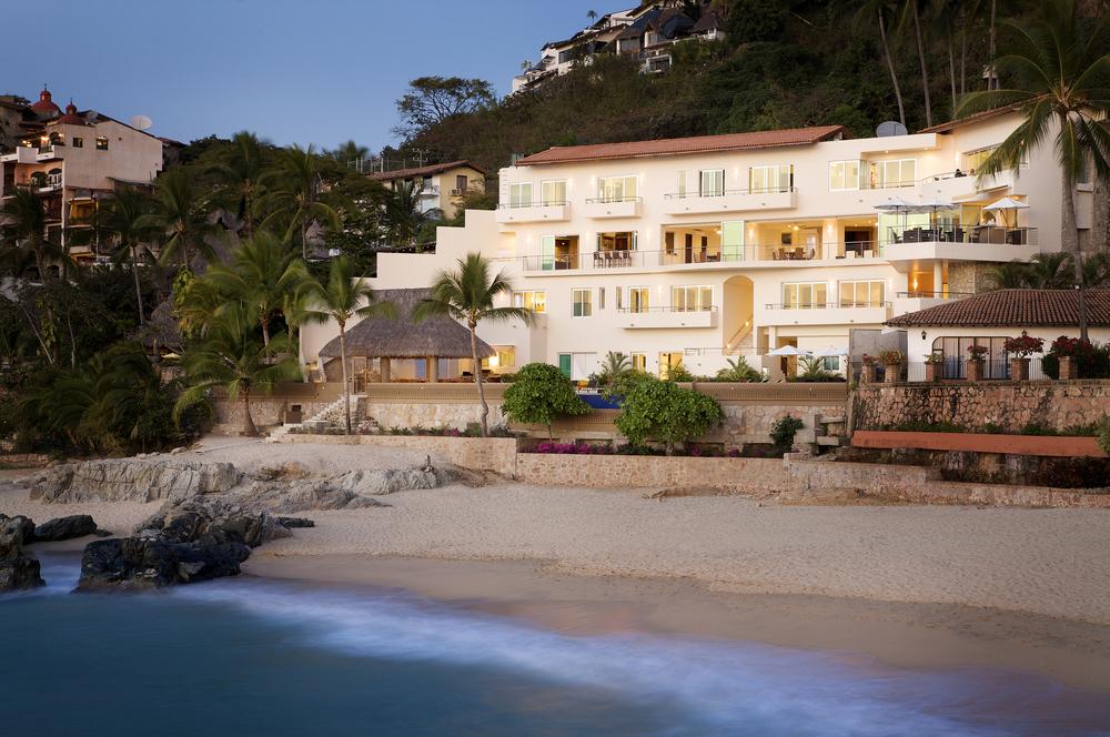 Casa G from beach