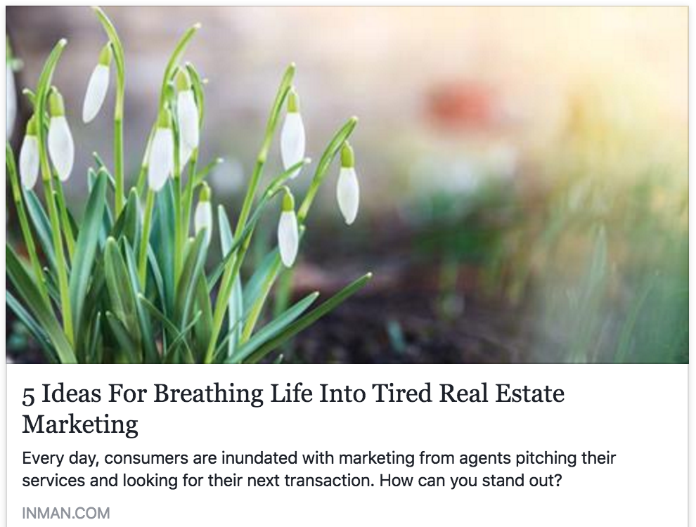 5 ideas for breathing life into tired real estate marketing