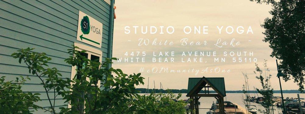 White Bear Lake — Studio One Yoga