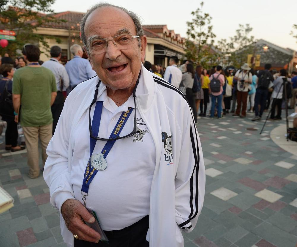 Marty Sklar is all smiles as he waits for the premiere of The Lion King at the Walt Disney Grand Theater at the Shanghai Disney Resort on June 14, 2016 - Photo Credit: OC Register