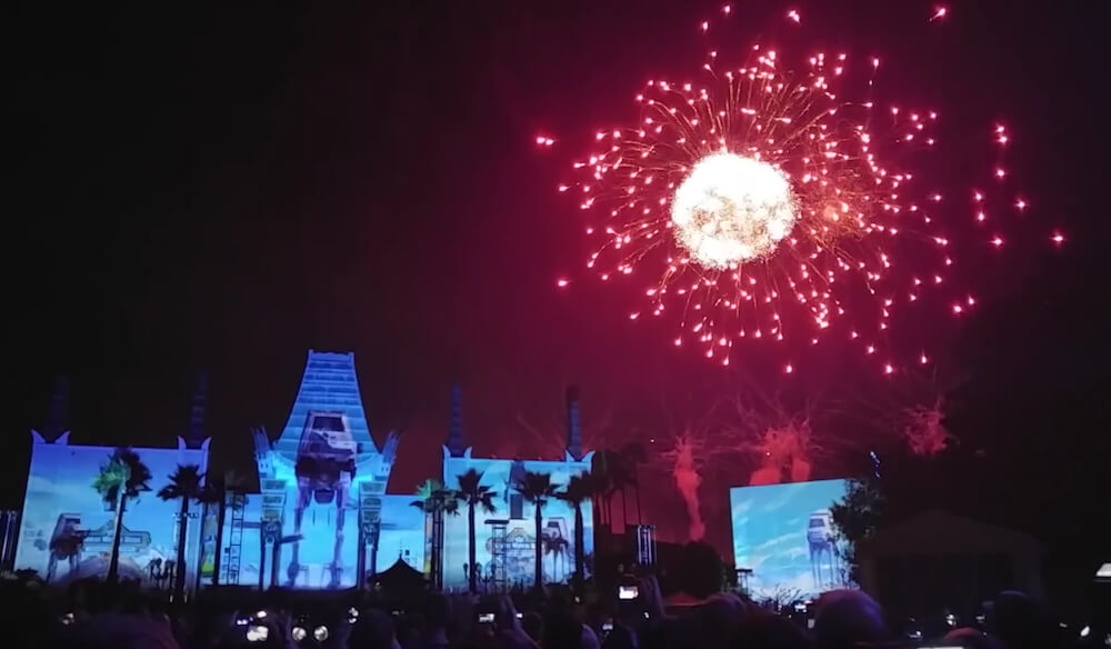 Disney Hollywood Studios New Firework Show from Saturday, June 18 - Photo Credit: Blog Mickey