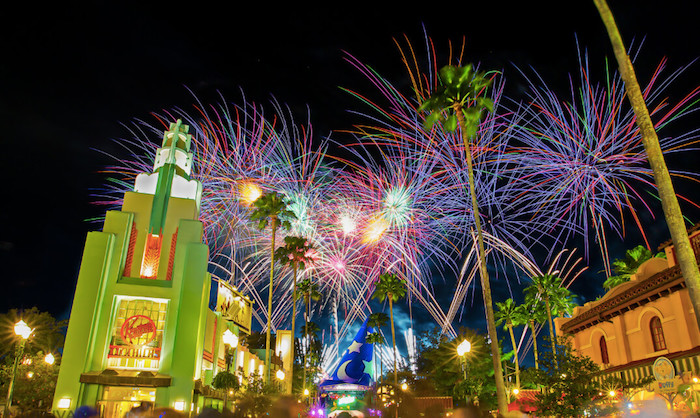 Fireworks at Disney Hollywood Studios back in 2013 -Photo Credit: Don Sullivan