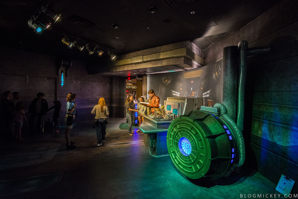Meet and Greet space with Star-Lord and Baby Groot at Hollywood Studios - Photo Credit: Blog Mickey