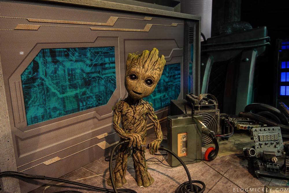 Baby Groot meet and greet at Disney's Hollywood Studios - Photo Credit: Blog Mickey