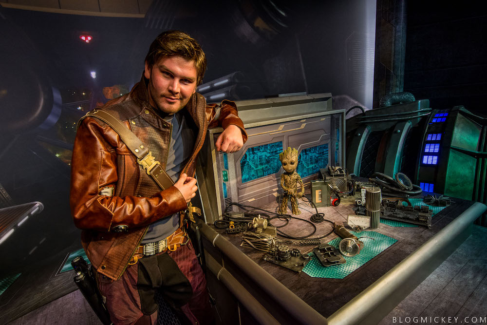 Star-Lord and Baby Groot meet and greet at Disney's Hollywood Studios - Photo Credit: Blog Mickey