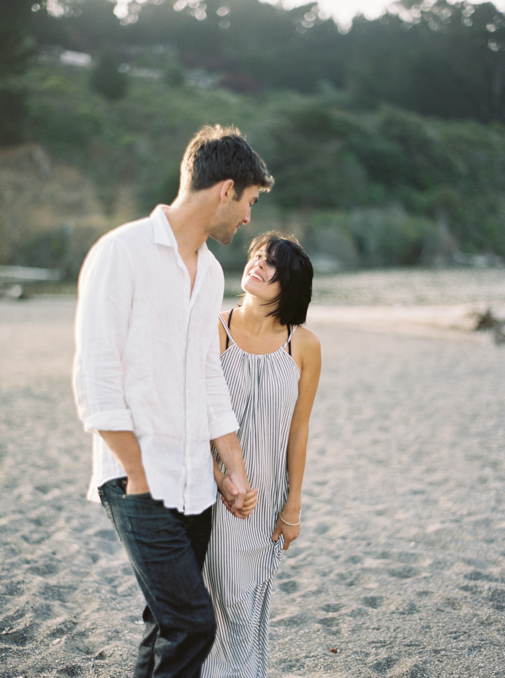 Seaside Engagement | cottagehillmag.com