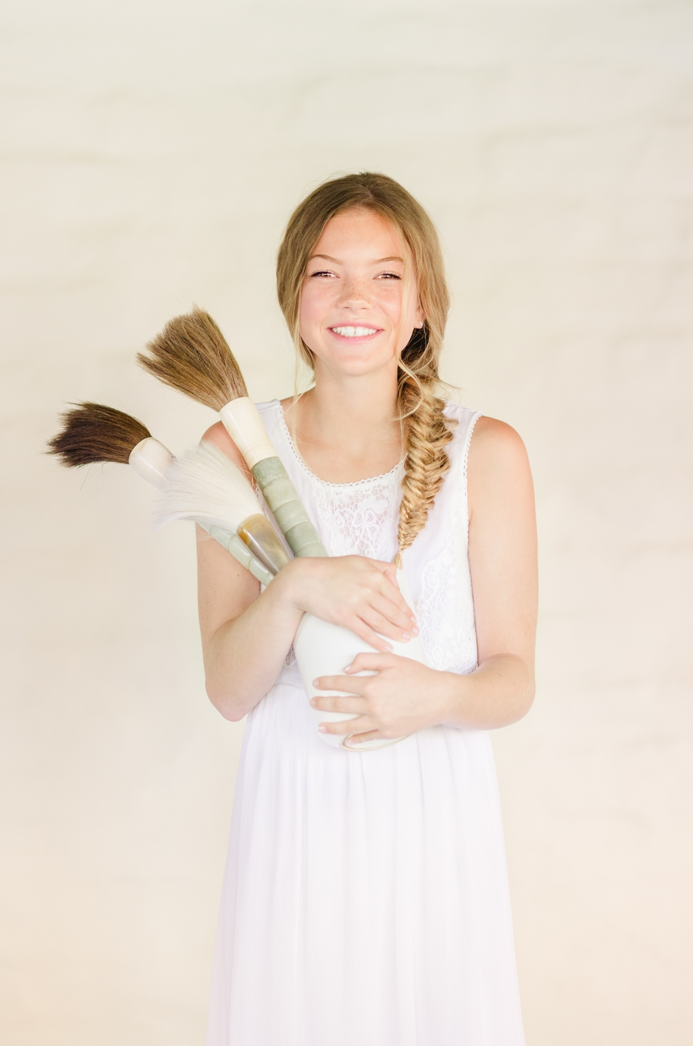 Many Brushes: Thoughts on Beauty by a Mother as Featured in Cottage Hill's The Pioneer Issue