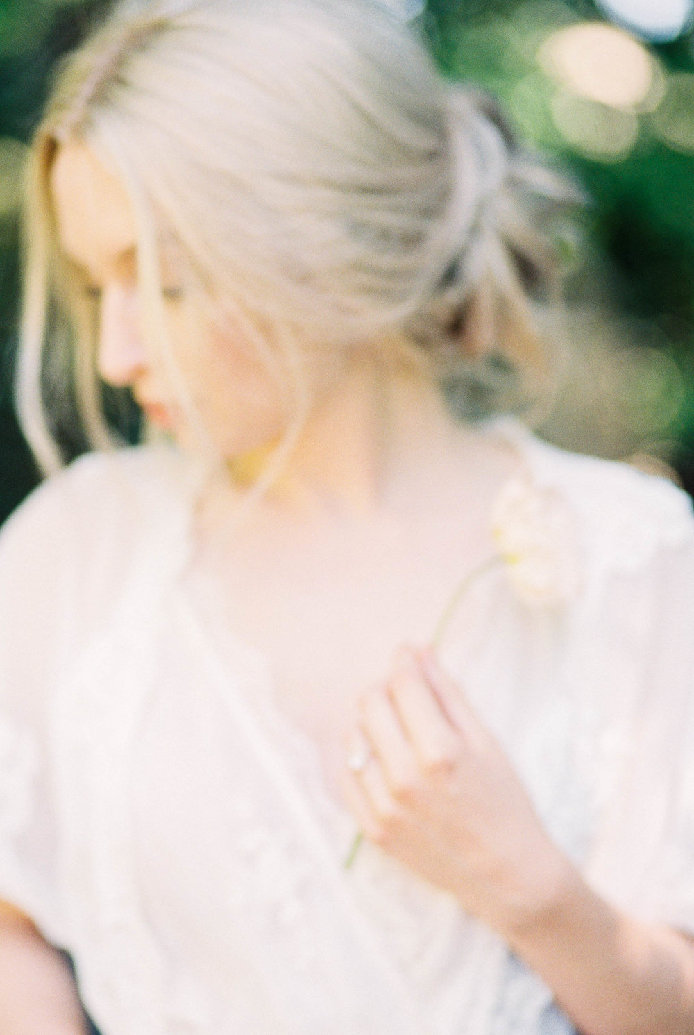 Bridal Portraits Inspired by an English Rose Garden now on Cottage Hill