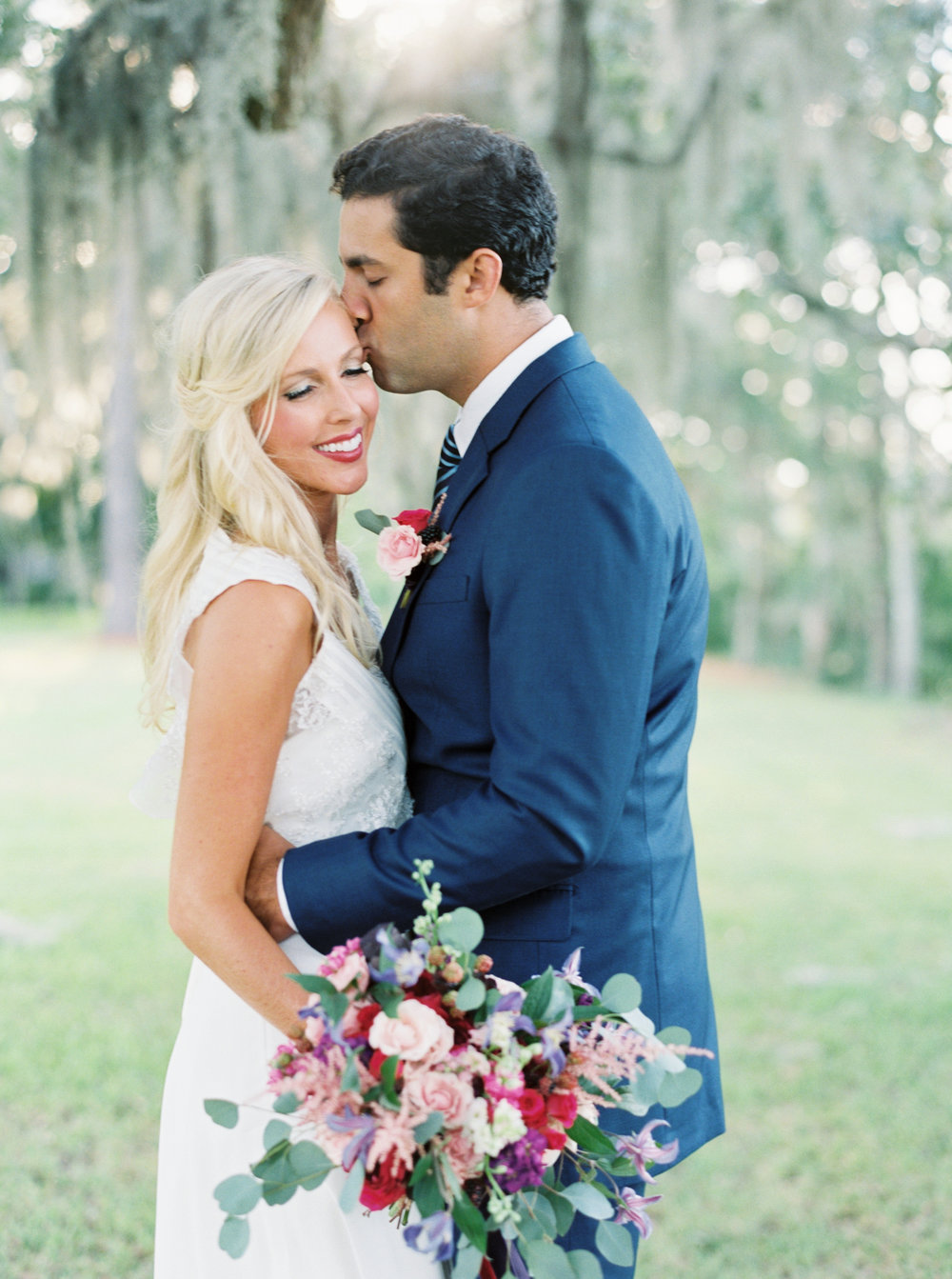 Romantic Coastal Charleston Elopement now on Cottage Hill