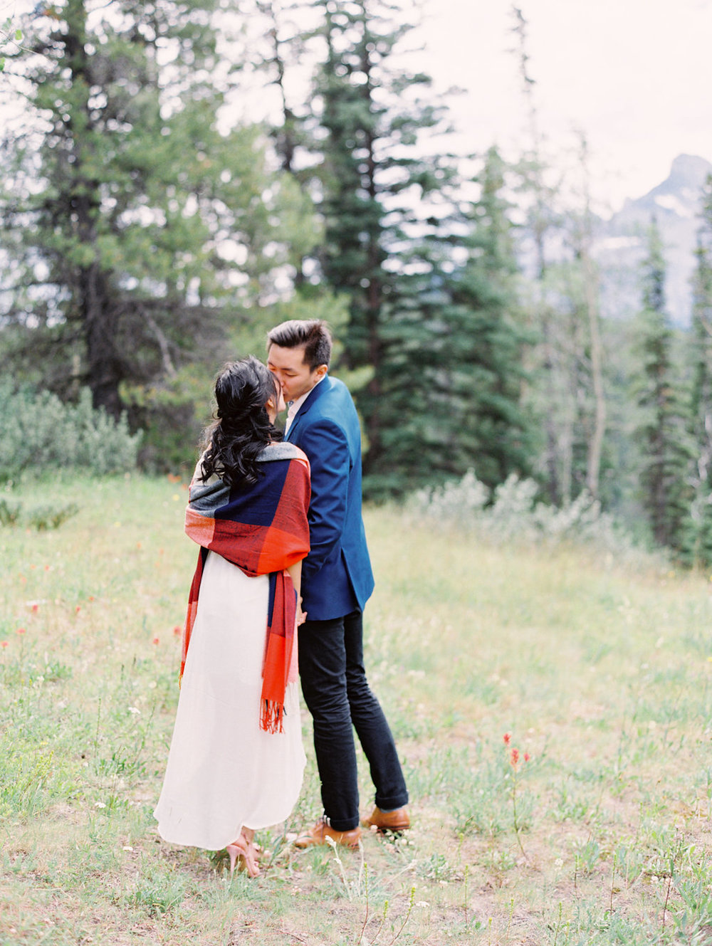 Romantic Engagement Session in Banff